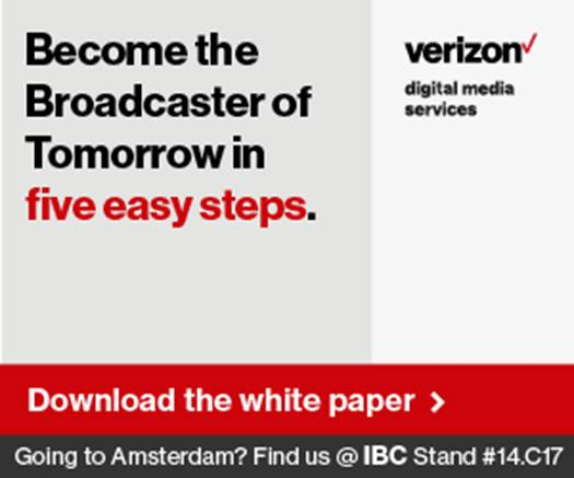 Verizon - Become the broadcaster of tomorrow