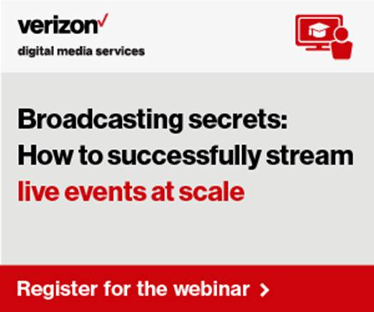 Verizon - How to successfully stream live events at scale