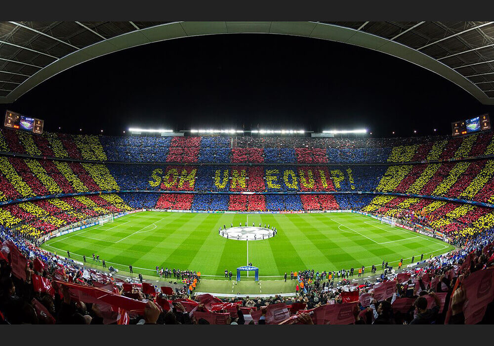Spains watchdog fines la liga for hindering stadium access for tv camp nou 17 june 2017 stopboris Gallery