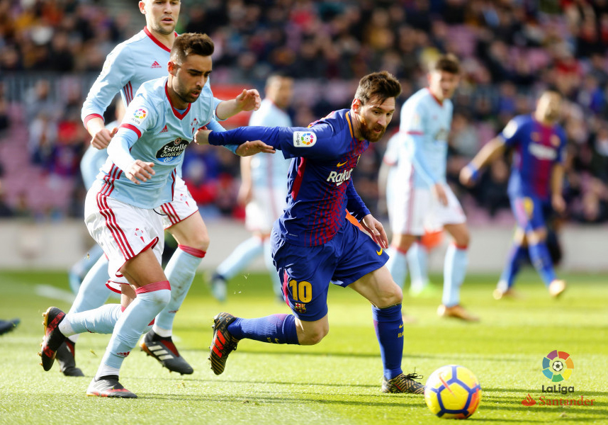 laliga celta barca 06 december 2017