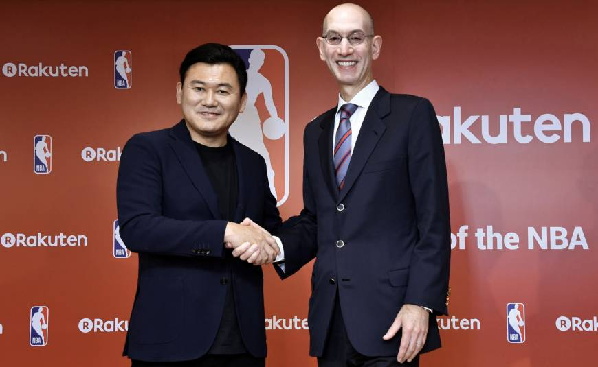 Rakuten NBA partnership 10 October 2017