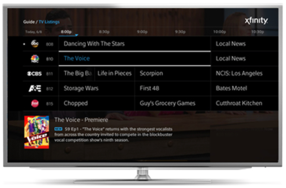 Lg to add comcast xfinity app to smart tvs cable news for Mirror xfinity app to tv