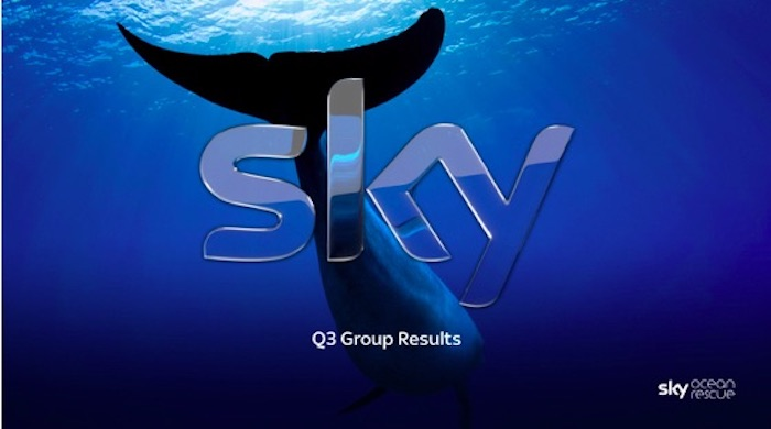 Sky shows steady growth in sales, profit in Q3, customer growth slows