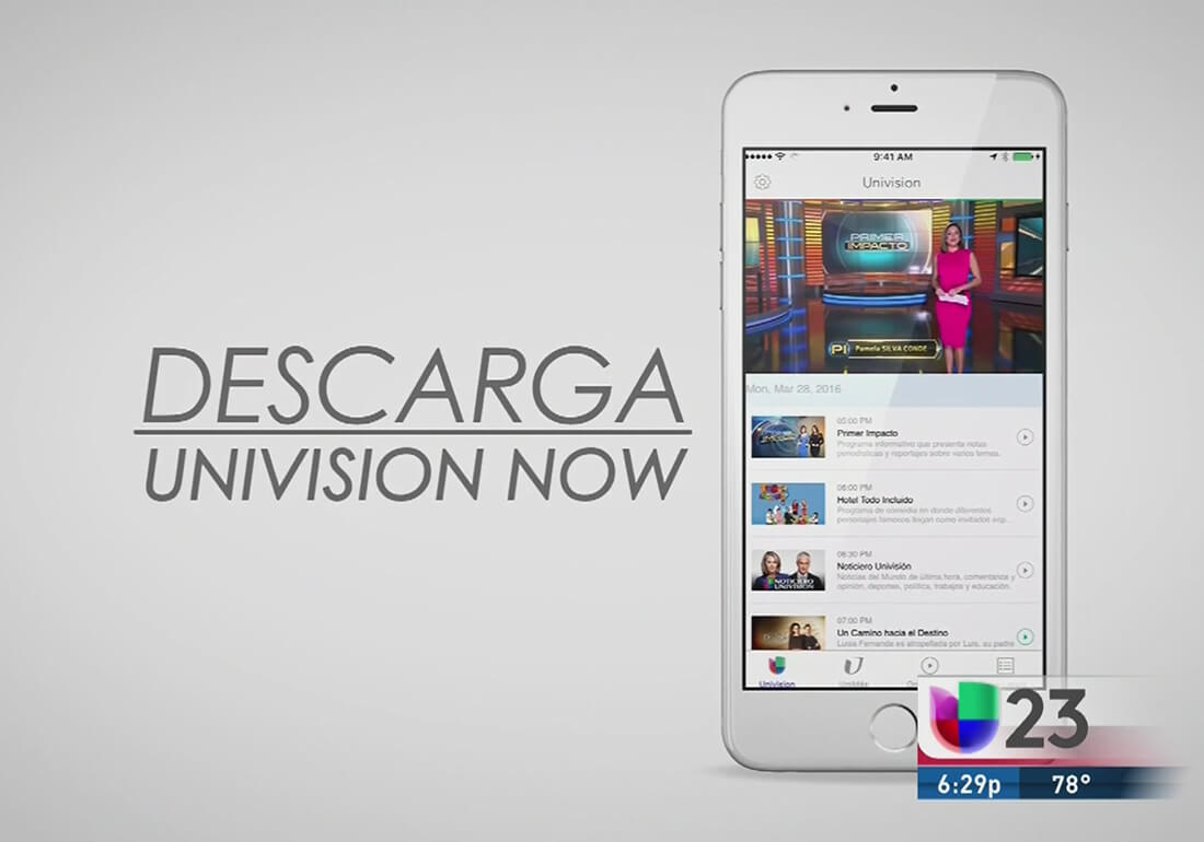 univision now 15 may 2018