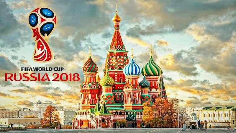World Cup Russia Red Square 18 June 2018