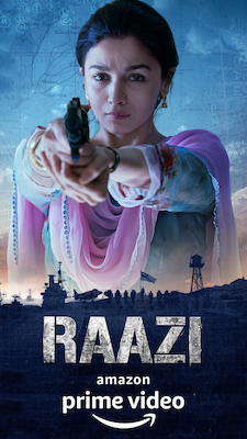 Amazon India Raazi 4 July 2018