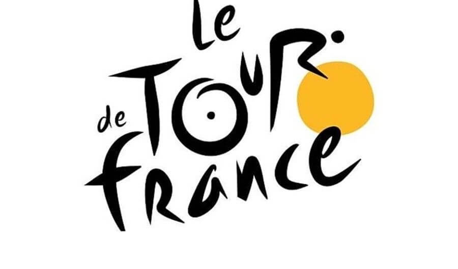 Tour de France logo 9 July 2017
