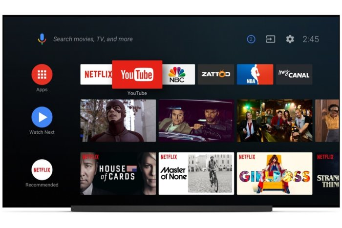 android TV 11 sept 2018
