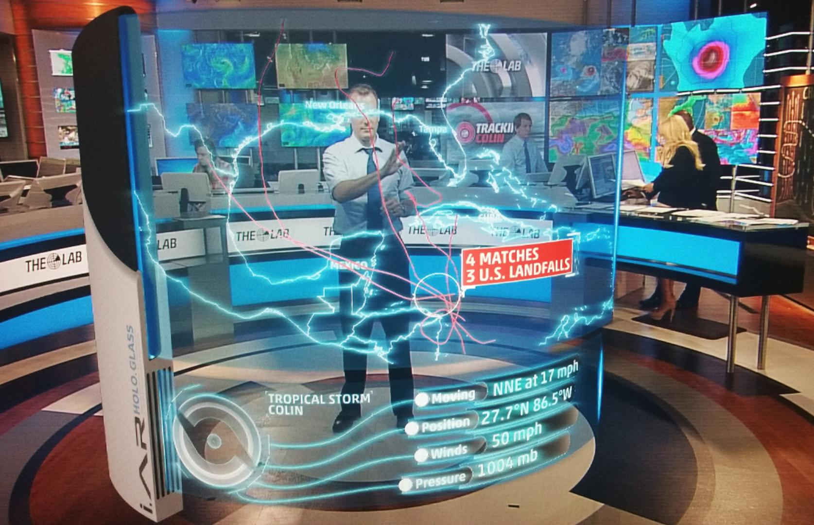 Weather Channel debuts forest-fire AR segment | Programming | News