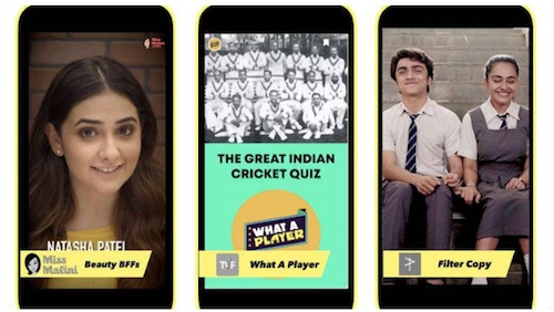 SnapChat India What a Player 30 Nov 2018