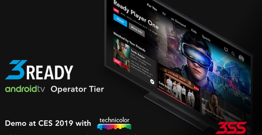 3SS and Technicolor partner for integrated Android TV offerings