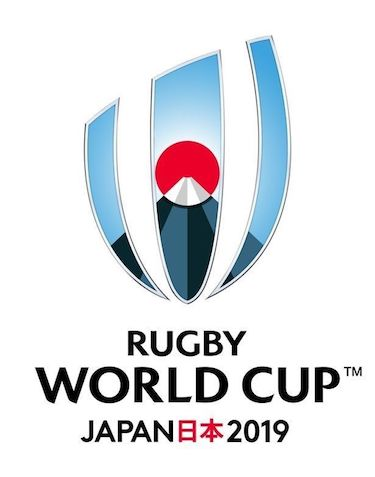 Rugby World Cup Japan 2019 logo 8 August 2019