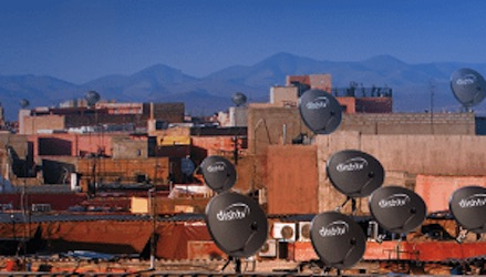 DishTV India rooftop satellite dishes 3 Jan