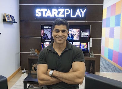 Maaz Sheikh CEO STARZ PLAY