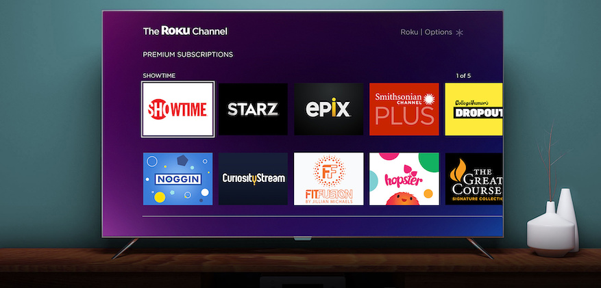 Roku Channel Premium Subs 2Jan2019 e