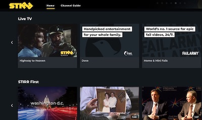 Sinclair makes STIRR with new free live and on-demand streaming