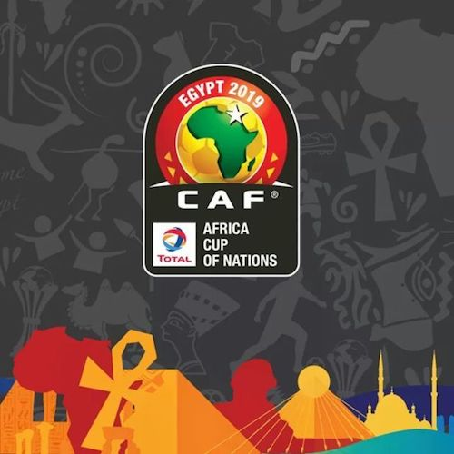 Africa Cup of Nations 2019 Egypt logo 12 June 2019