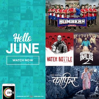 ZEE5 unveils new genres for June content slate | Programming