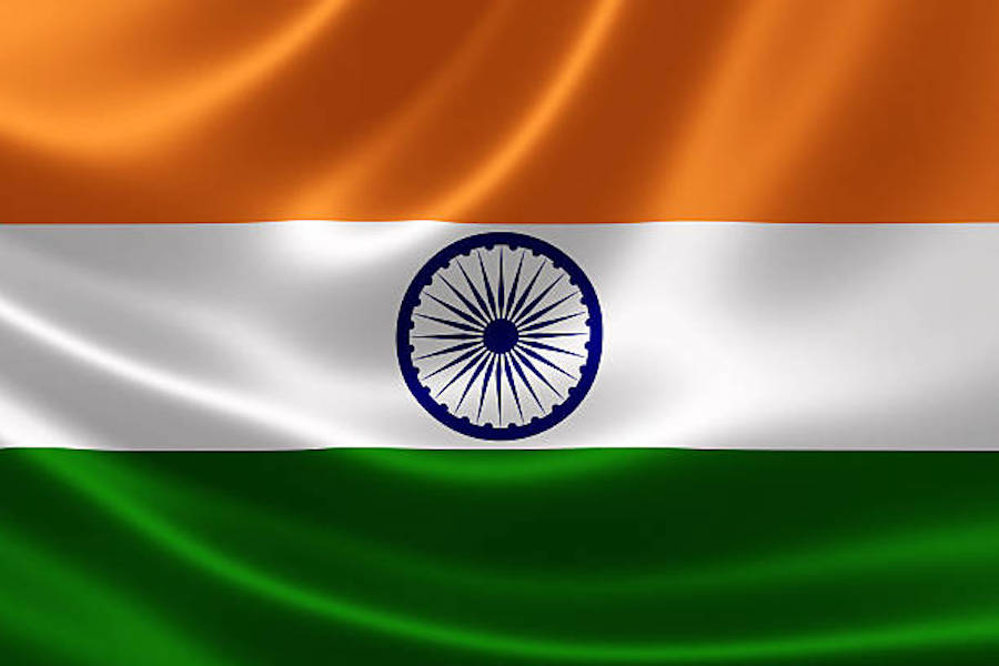Indian flag 5 March 2018