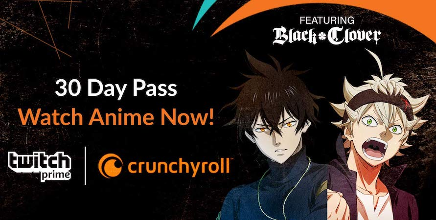 Crunchyroll TwitchPrime 15May2019