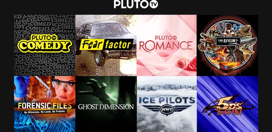 PlutoTV new channels 7Feb2019