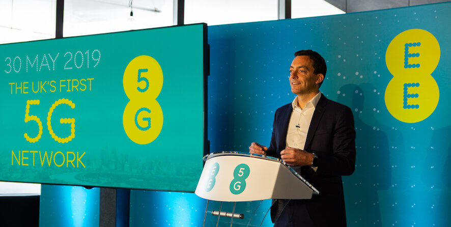 EE to launch 5G network in UK on 30 May