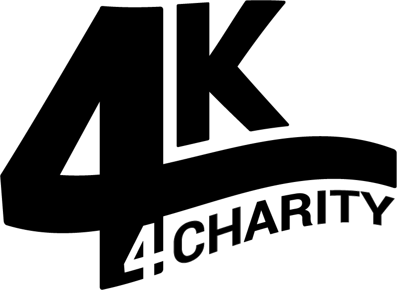 4K 4Charity wordmark BLACK