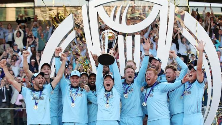England win the ICC Mens Cricket World Cup 2019