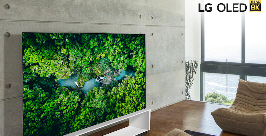 LG SIGNATURE OLED 8K TV 9Jan2020