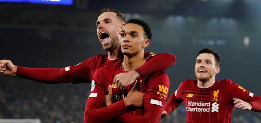PremierLeague Liverpool Hendo Trent 29May2020