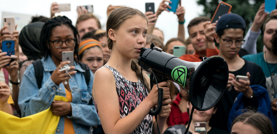 Greta Thunberg The Voice of the Future Flame Distribution 21 Oct 2020