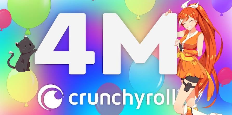 Crunchyroll 4M 2 Feb 2021