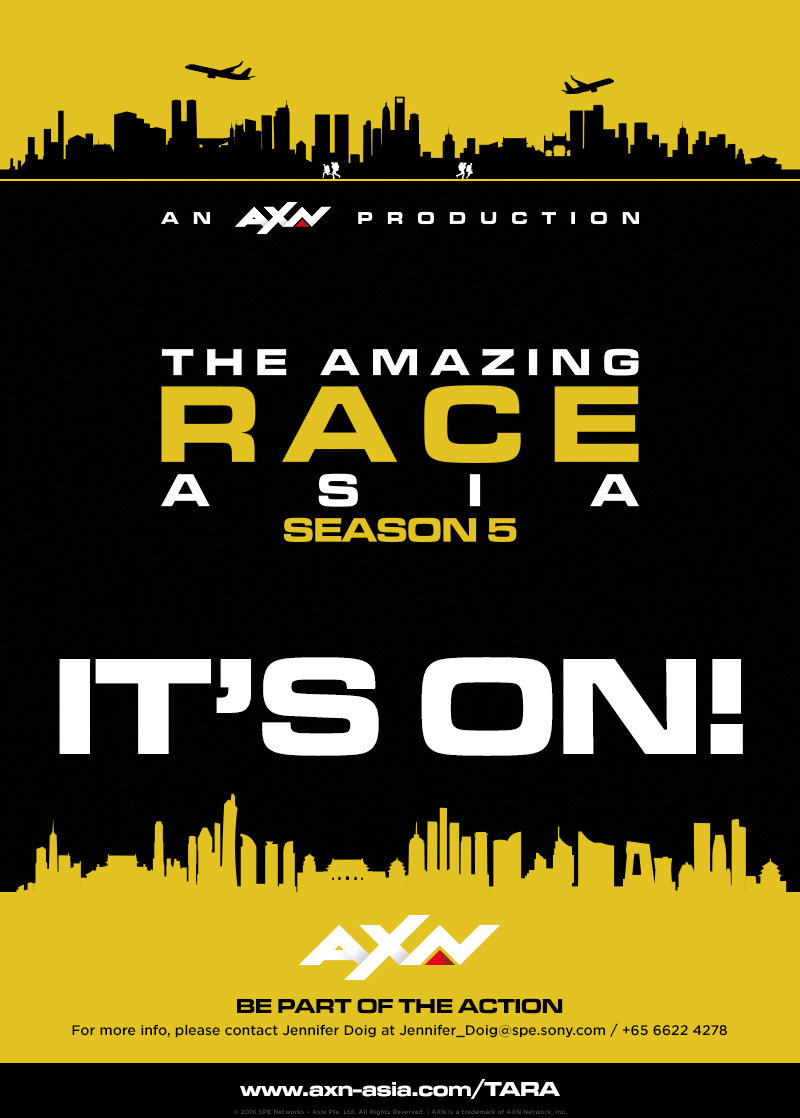 The Amazing Race Asia returns to AXN Singapore | Deals | News | Rapid TV News