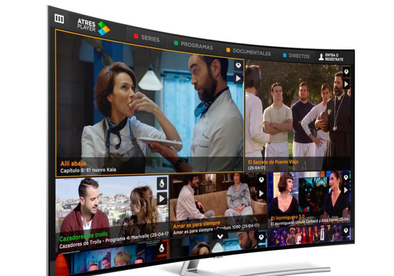 OTT Update: Atresmedia Updates Samsung Smart TV OTT App