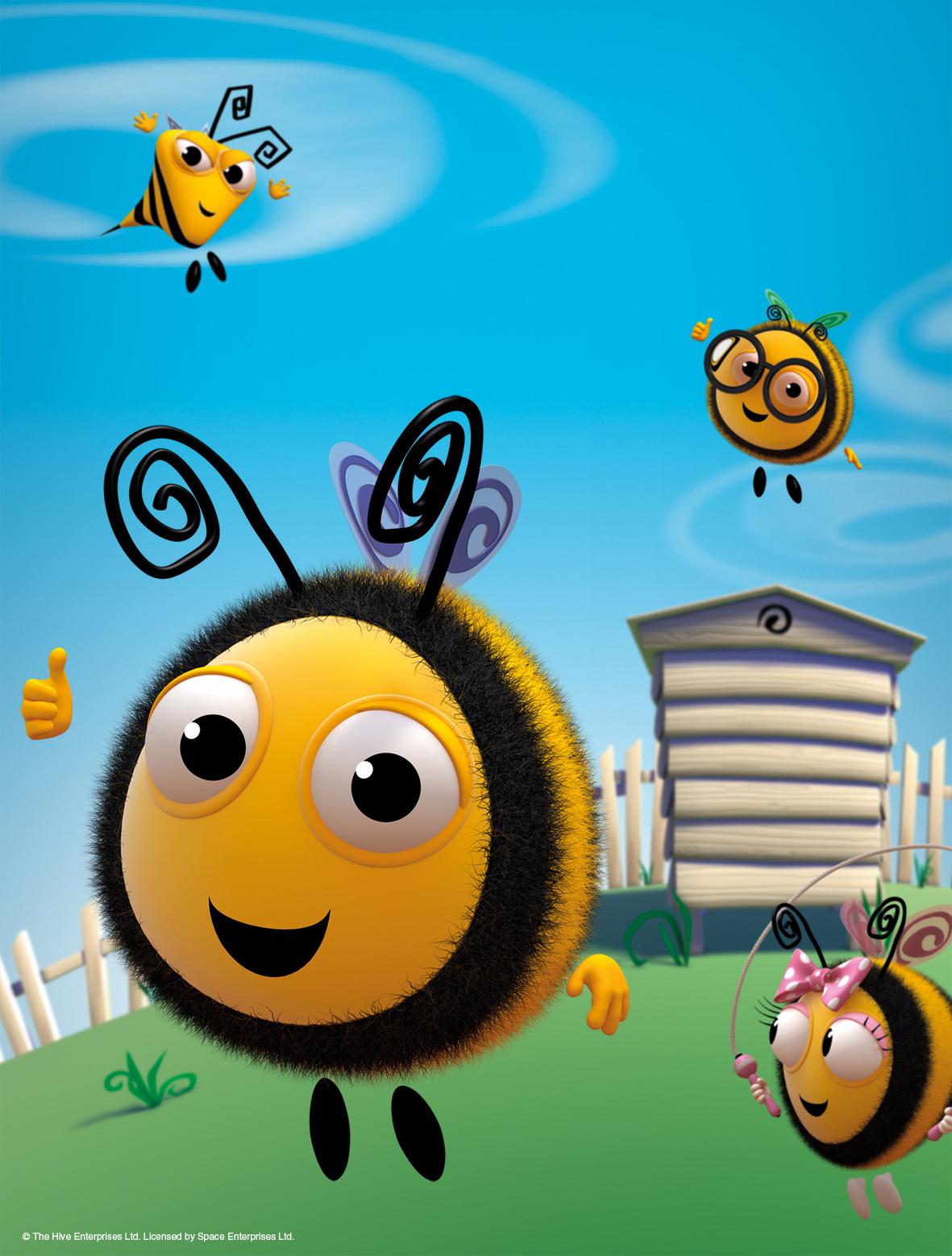 La colmena feliz - Nector y la abeja de nieve