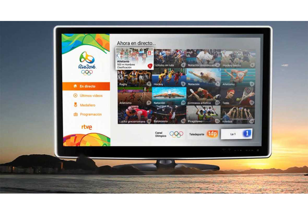 Spaniards choose streaming and mobile for Rio | Online Video